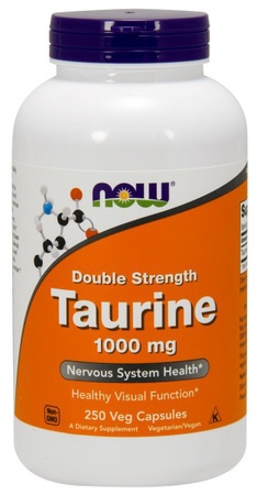 Now Foods Taurine 1000 Mg - 250 Cap