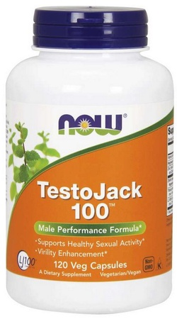 Now Foods TestoJack 100 - 120 Vap