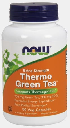 Now Foods Thermo Green Tea Extra Strength - 90 Cap