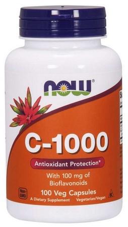 Now Foods Vitamin C 1000 Mg Capsules - 100 Cap