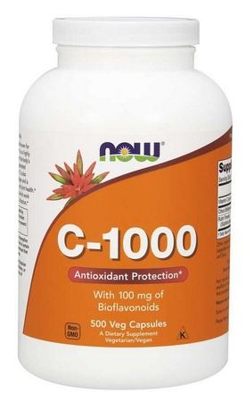 Now Foods Vitamin C 1000 Mg Capsules - 500 Cap