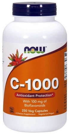 Now Foods Vitamin C 1000 Mg Capsules - 250 Cap