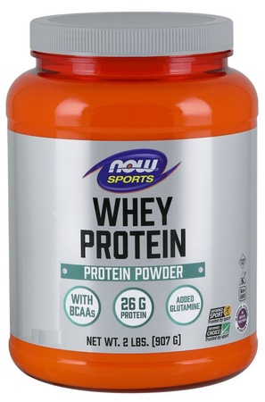 Now Foods Whey Protein  Chocolate - 2 Lb