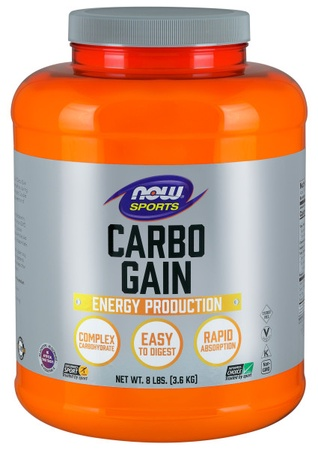 Now Foods Carbo Gain Maltodextrin - Complex Carbohydrate Powder - 8 Lb