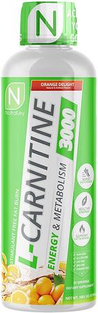 Nutrakey L-Carnitine 3000  Orange - 31 Servings