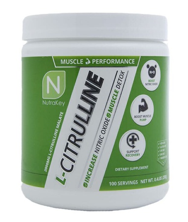 Nutrakey L-Citrulline - 100 Servings (200 Grams)