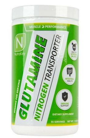 Nutrakey L-Glutamine - 500 grams