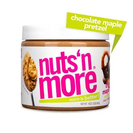 Nuts n More Chocolate Maple Pretzel - 16 Oz