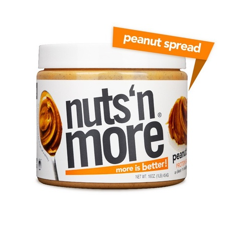 Nuts n More Peanut Spread - 16 Oz