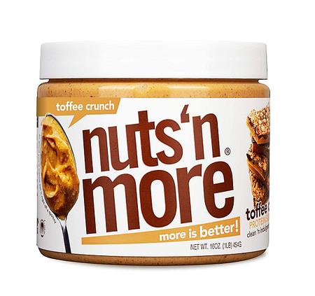Nuts n More Toffee Crunch - 16 Oz