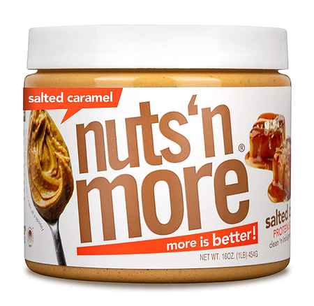 Nuts n More Salted Caramel - 16 Oz   *SALE  *$9.59 w/coupon code DPS10