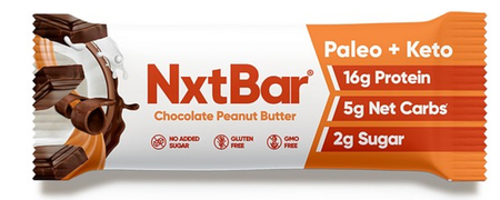 NxtBar Protein Bars Chocolate Peanut Butter  - 12 Bars