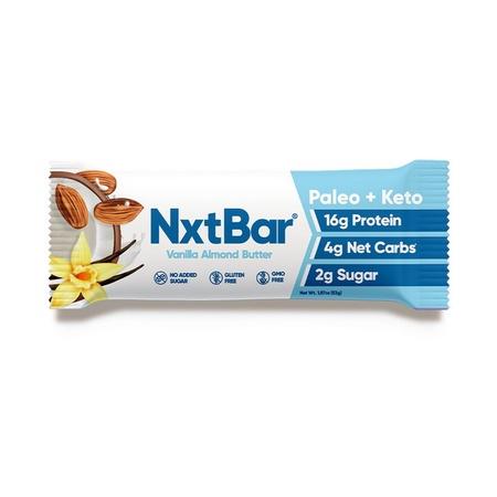 NxtBar Protein Bars Vanilla Almond Butter  - 12 Bars