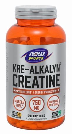 Now Foods Kre-Alkalyn Creatine 750 Mg/Cap - 240 Cap
