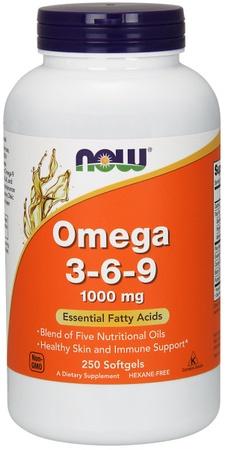 Now Foods Omega 3-6-9 - 250 Softgels