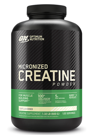 Optimum Nutrition Creatine Micronized - 600 Grams (120 Servings)