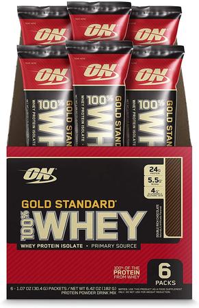 -Optimum Nutrition 100% Whey Gold Standard Protein Extreme Milk Chocolate - 6 Packs