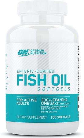 Optimum Nutrition Fish Oil Capsules - 100 Softgels
