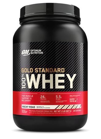 Optimum Nutrition 100% Whey Gold Standard Rocky Road - 2 Lb 28 Servings