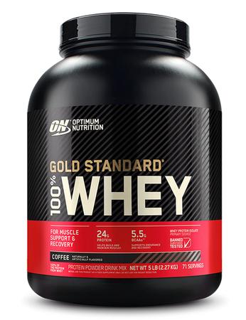 Optimum Nutrition 100% Whey Gold Standard Coffee - 5 Lb