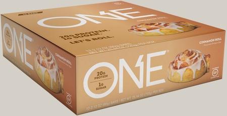 ONE Bar Cinnamon Roll - 12 Bars