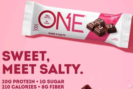 ONE Bar Dark Chocolate Sea Salt - 12 Bars