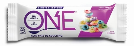 ONE Bar Fruity Cereal - 12 Bars