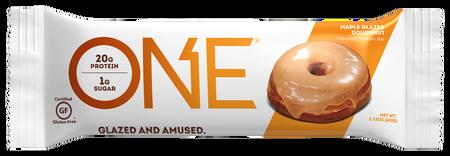 ONE Bar Maple Glazed Doughhnut - 12 Bars
