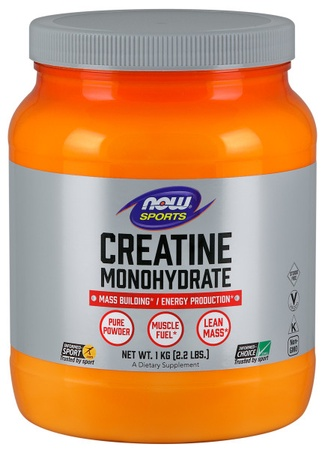 Now Foods Creatine Powder - 1000 Gram (2.2 Lb)