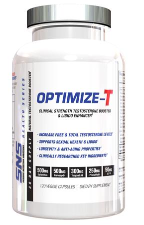 SNS Serious Nutrition Solutions Optimize-T - 120 Cap