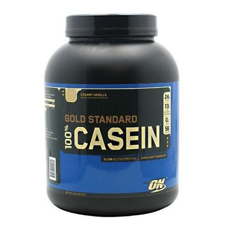 Optimum Nutrition 100% Casein Vanilla - 4 Lb