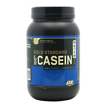 Optimum Nutrition 100% Casein Vanilla - 2 Lb
