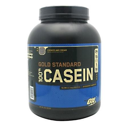 Optimum Nutrition 100% Casein Cookies & Cream - 4 Lb