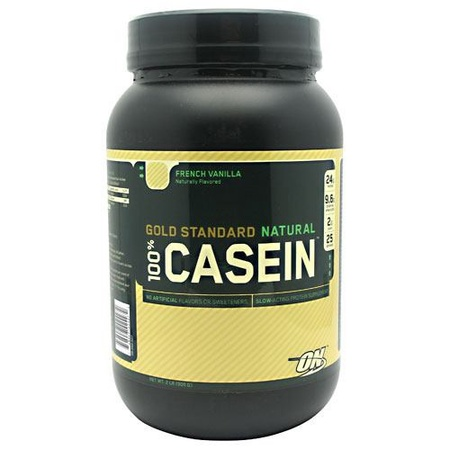 Optimum Nutrition 100% Casein Natural French Vanilla - 2 Lb