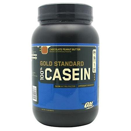 Optimum Nutrition 100% Casein Chocolate Peanut Butter - 2 Lb