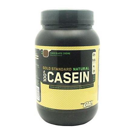 Optimum Nutrition 100% Casein Natural Chocolate Creme - 2 Lb