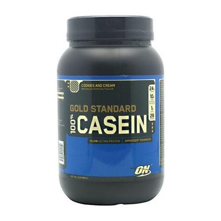 Optimum Nutrition 100% Casein Cookies and Cream - 2 Lb