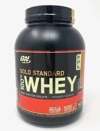 -Optimum Nutrition 100% Whey Gold Standard Chocolate Peanut Butter - 3.64 Lb (50 Servings) *Expiration date 5/21