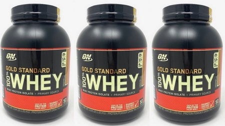 -Optimum Nutrition 100% Whey Gold Standard Chocolate Peanut Butter - 10.9 Lbs (3 x 3.64 Lb-150 Servings) $84.99 w/DPS10 code
