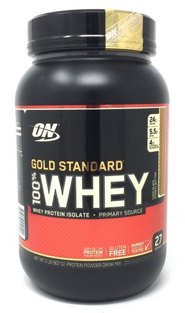 Optimum Nutrition 100% Whey Gold Standard Chocolate Peanut Butter - 2 Lb