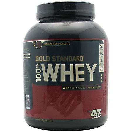 Optimum Nutrition 100% Whey Gold Standard Extreme Chocolate - 5.1 Lb