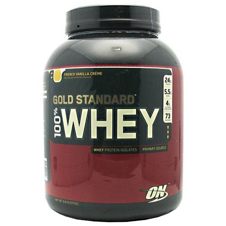 Optimum Nutrition 100% Whey Gold Standard French Vanilla - 5 Lb