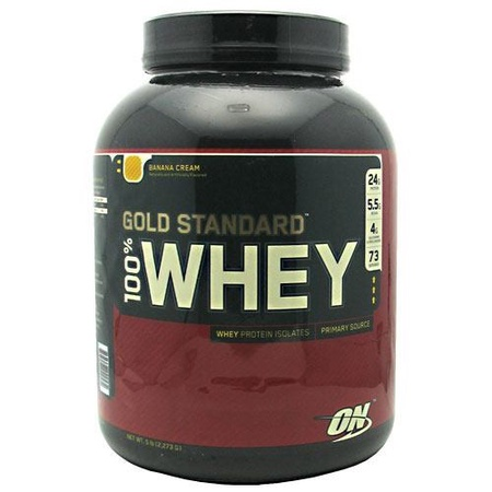Optimum Nutrition 100% Whey Gold Standard Banana - 5 Lb