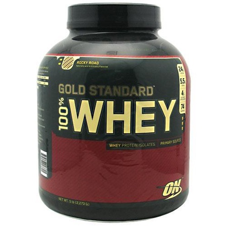 Optimum Nutrition 100% Whey Gold Standard Rocky Road - 5 Lb
