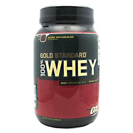 Optimum Nutrition 100% Whey Gold Standard Chocolate (Dbl Rich Choc) - 2 Lb
