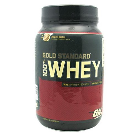 Optimum Nutrition 100% Whey Gold Standard Rocky Road - 2 Lb