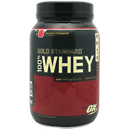 Optimum Nutrition 100% Whey Gold Standard Strawberry - 2 lb