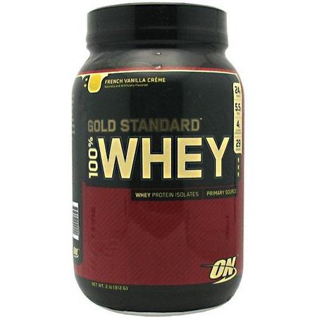 Optimum Nutrition 100% Whey Gold Standard French Vanilla Crème - 2 Lb