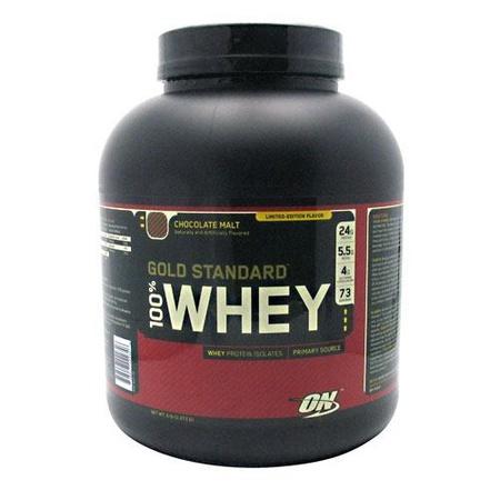 Optimum Nutrition 100% Whey Gold Standard Chocolate Malt - 5 Lb