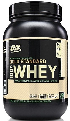 Optimum Nutrition 100% Whey Gold Standard NATURAL Vanilla - 1.9 Lb